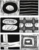 Black by Tom Baggaley, Artist Print, Book