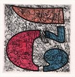 FIVE by Tom Baggaley, Artist Print, Etching