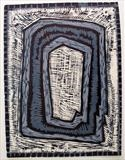 WOOD CUT 0 by Tom Baggaley, Artist Print, WOOD CUT 0