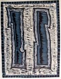 WOOD CUT 11 by Tom Baggaley, Artist Print, WOOD CUT